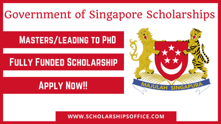Government of Singapore Scholarships 2022
